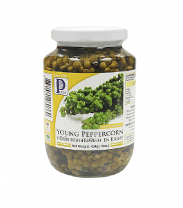 Young Green Peppercorns (in brine) by Penta | Buy Online at The Asian Cookshop.